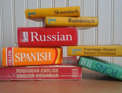 Sprachelernen mit dem Wörterbuch